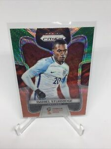 2018 Panini Prizm World Cup Green and Orange Wave Daniel Sturridge #68