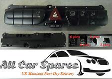 Mercedes C-Class C180 / W203 - Hazard / Door Lock / Seat Tilt Switches / Button