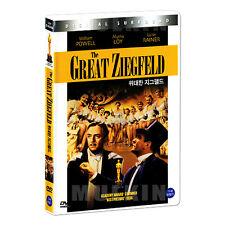 The Great Ziegfeld (1936) DVD - Robert Z. Leonard (*New *Sealed *All Region)