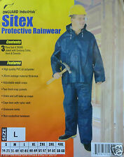 Rainwear----New 3 Piece Sitex Protective Rainwear SIZE:L