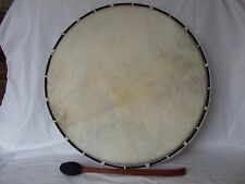 Shamanic Drum Native American Tribal Ex Large 45 cm with Beater Ritual Healing