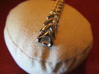 NewOldStock SPEIDEL Golden Harvest 10K White Gold Filled Watch Band...L@@K