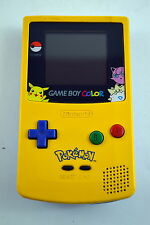 Nintendo Game Boy Color Pokemon Edition System Console Yellow New Screen!