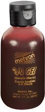 Mehron 3D Gel Professional FX Makeup, 2 oz Special Effects Gel, Blood Red