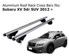 Aluminium Roof Rack Cross Bars fits Subaru XV 2012 Onwards