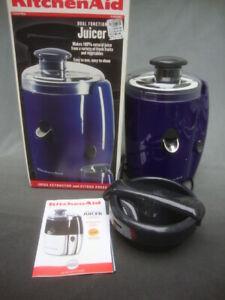 KitchenAid Dual Function Juicer KJE500 Juice Extractor Citrus Press New Unused