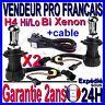 2 AMPOULE LAMPE FEU PHARE DE RECHANGE POUR KIT BI XENON HID H4-3 Hi/Lo 6000k 35W