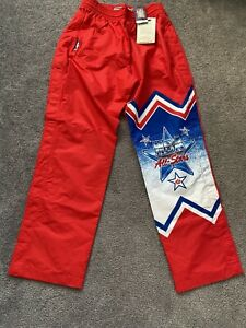 NEW MITCHELL & NESS 1991 NBA All Star Game Warm Up Pants MSRP $140 Men's Large L