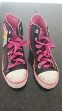 Used Infant Girls Skechers Twinkle Toes Light Up Limited Edition Shoes Size 2