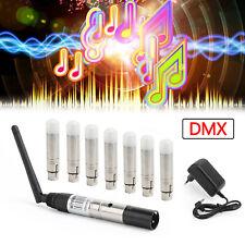 More details for dmx512 wireless 1 transmitter 7 receiver dmx controller 2.4g stage lighting eu