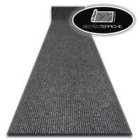 Türmatt Fußmatte Fußabtreter Läufer Antirutsch LIVERPOOL grau Breite 100-200 cm