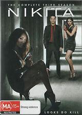 MAGGIE Q: NIKITA Season 3 BRAND NEW, BUT UNSEALED! 5-DVD Set Region 4
