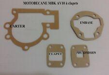 Pochette de joints pour Motobecane MBK AV10 à clapets