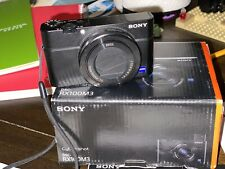 Sony DSC-RX100 III 20.1 MP Digital SLR Camera Mint With Extras