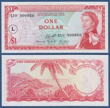 EAST CARIBBEAN STATES 1 Dollar (1965) UNC P.13 L