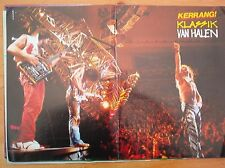 "VAN HALEN klassik Centerfold magazine POSTER  17x11"""