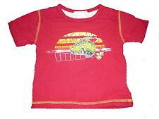 H & M tolles T-Shirt Gr. 74 rot mit Bus Motiv !!