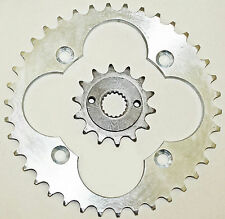 1999 - 2004 Honda Sportrax TRX400EX 14 Tooth Front and 38 Tooth Rear Sprocket