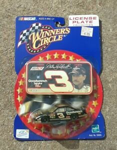 DALE EARNHARDT #3 2000 Goodwrench 1:64 NASCAR Winners Circle Mini License Plate