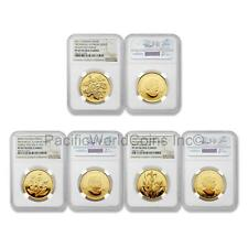 Canada 2006 2009 2011 Provincial Floral Series 3pc Gold NGC PF69 ULTRA CAMEO Set