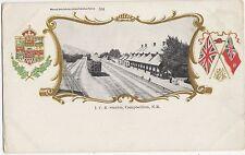 Canada, I.C.R. Station Campellton N.B. Vintage Embossed Postcard, U001