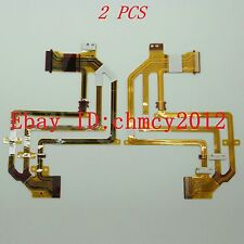 2pcs FP-412 LCD Flex Cable For SONY HDR-HC3E HC3 Video Camera Repair Part