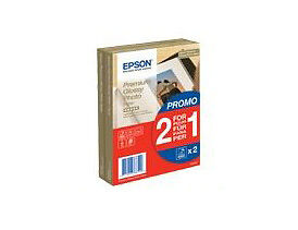 Epson Premium Glossy Photo Paper 10x15cm - 2 Packs - 80 Sheets