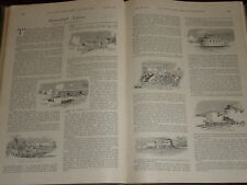 1899 ARTICLE ~ ARMOURED TRAINS MAJOR C.FIELD MARINES