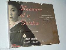 CDA Memoirs of a Geisha (1999 Abridged 3-CD's 3-Hours Random House)