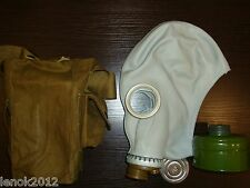 Sz 1 (S) Russian USSR CCCP civilian gray rubber gas mask GP-5 old stock orig