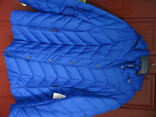 St John's Bay Quality Apparel Ladies Zip-Front Jacket size 3X Exotic Blue Solid