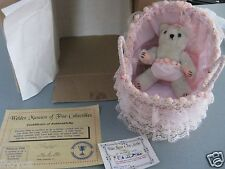 """7""""  """"PRECIOUS PINK """" Bear by Lady Ashlie WELDEN MUSEUM OF FINE COLLECTIBLES NEW"""