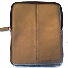 "Wilsons Leather iPad Mini & 7"" Tablet Sleeve Cover Case Bag-Metalic Gray Leather"