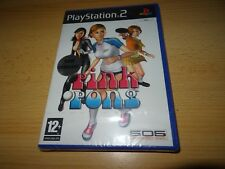 PINK PONG PS2 PLAYSTATION 2-PAL NEW SEALED