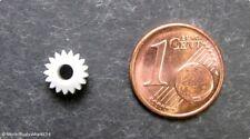 Ersatz-Zahnrad Ritzel 17 Zähne M 0,4 links z.B. für ROCO Dampfloks Spur H0 - NEU