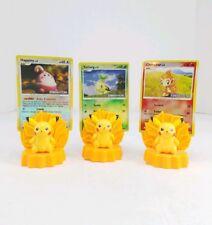 Pikachu Pokemon Burger King Toys Figures Nintendo Card Holder Collectible (2008)