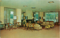 Postcard Wesley Manor Frankfort Indiana Main Living Room