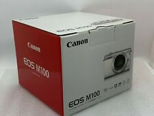 New CANON EOS M100 Mirrorless Digital Camera (Body Only) WHITE