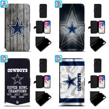 Dallas Cowboys Leather Case For iPhone X Xs Max Xr 7 8 Plus Galaxy S9 S8