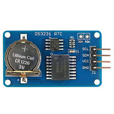 DS3231 EEPROM AT24C02 I2C Clock Precision Real Time Memory Module For Arduino TW