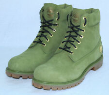"NEW Timberland Champs Sports DJ Khaled ""Secure the Bag"" Boots Pesto Green Sz 12M"
