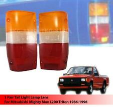 REAR TAIL LIGHT LENS FOR MITSUBISHI L200 Cyclone Mighty Max 1986 - 1994