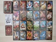 "Rare ""GILDED REVERIE Lenormand"" Oracle cards set with booklet by Ciro Marchetti."
