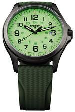 TRASER H3 Herrenuhr P67 Officer Pro Gun Metal Lime Taucherband 107424