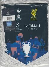 """Pennant C. League Madrid Final 2019 Liverpool- Tottenham /Uefa Official Product"