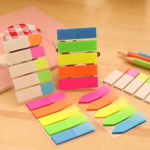 DIY Kawaii Colored Memo Pad Lovely Paper Note School Office Supplie JR_cd