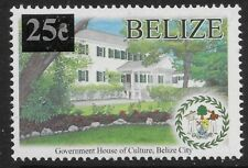 More details for belize sg1380 2012 25c on 10c government house mnh