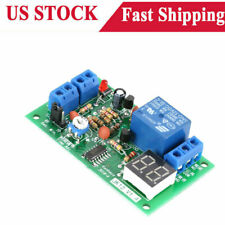 Dc 12v Led Display Cycle Delay Time Timing Timer Relay Switch Turn Onoff Module