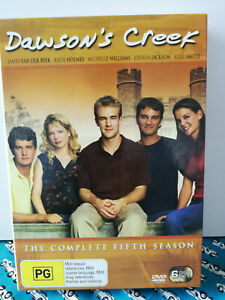 Dawson's Creek The Complete Fifth Season 6 disc set