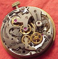 CLEAN AGARI VENUS 188 CHRONOGRAPH WRISTWATCH MOVEMENT 34MM DIAL